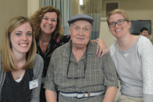 Bob Pilot successfully rehabbed at Sweet Brook Rehabilitation after a knee replacement by Jonathan Cluett, MD, of Orthopedic Associates of Northern Berkshire.